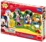 Dino 4 in 1 Clubul lui Mickey Mouse 54 (333079) Puzzle
