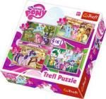 Trefl 4 In 1 My Little Pony Puzzle
