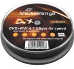 MediaRange DVD-RW 4.7Gb 4X 10 бр.