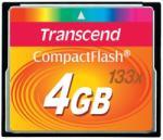 Transcend CompactFlash 4GB 133x TS4GCF133