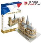 CubicFun Catedrala Notre Dame MC054h Puzzle