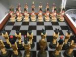 Ókori egyiptom sakk készlet