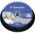Verbatim Blu-Ray BD-R 25Gb 6X 10 бр. Single Layer