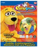 Jay@Play Szundibarát bábozós takaróállatkák - Sárga kutya