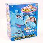 Jay@Play Szundibarát bábozós takaróállatkák - Kék elefánt