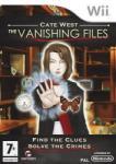 Destineer Cate West The Vanishing Files (Wii) Játékprogram