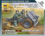 Zvezda German 75-mm Infantry Gun 1/72 6156