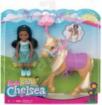 Mattel Barbie - Chelsea Club - Chelsea pónival (FRL84)