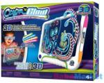 Tech 4 Kids Color N Glow világító rajztábla 3D szemüveggel