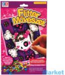 Creative Kids Flitter művészet - kislány