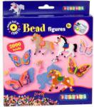Playbox Vasalható gyöngyök - lepkék és lovak készlet 2000 db-os