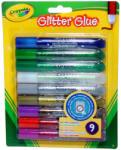Crayola Lemosható csillámos ragasztó (9db)