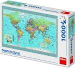 Dino Harta politica a lumii 1000 Puzzle
