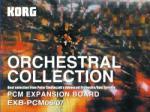 KORG EXB PCM 06-07 Orchestral Collection hangszínbővítőkártya