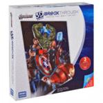 Mega Puzzles 3D Domborított Puzzle - Bosszúállók 3-as fokozat