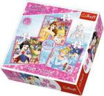 Trefl Disney Princess 3 az 1-ben puzzle 20,36,50 db-os (34833)