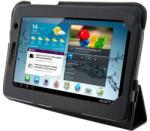 4World 4-Fold Slim for Galaxy Tab 2 7.0 - Black (09118)