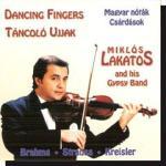 Lakatos Miklós és cigányzenekara: Táncoló újjak (CD)