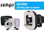 NANGUANG LEDGO LG-R332 / CN-R332 RING LIGHT with 2 X ROD SYSTEMS