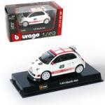 Bburago Racing - Fiat Abarth 500 1:43