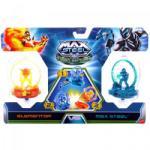 Mattel Turbo Battlers pörgettyű - Max Steel és Tűz Elementor