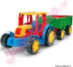 Wader Tractor gigant cu remorca