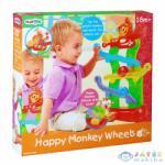 Playgo Vidám majom görgőpálya
