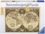 Ravensburger Harta Antica A Lumii 5000 17411 Puzzle