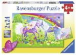 Ravensburger Cai Si Curcubeu 2X24 09193 Puzzle
