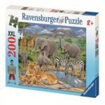 Ravensburger 12736 Animale In Africa 200 Puzzle