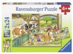 Ravensburger 09195 O Zi La Ferma 2X24 Puzzle