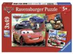 Ravensburger 09281 Lumea Masinilor De Curse 3X49 Puzzle