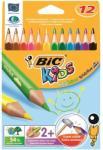 BIC Színes ceruza Kids Evolutions 3 Szögletű 12db
