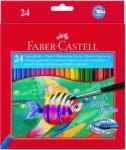 Faber-Castell Aquarell Színes ceruza 24db