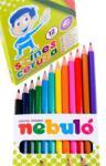 NEBULO Színes ceruza 12db (RNEBSZC12)