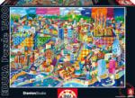 Educa Philip Stanton - Barcelona 1500 db-os (16001)
