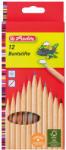 Herlitz Színes ceruza natúr 12db