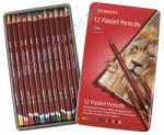Derwent Pasztell ceruza fém tokban 12db