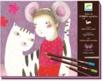 DJECO Akvarell ceruza műhely - Lányok (DJ08611)