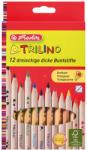Herlitz Színes ceruza Trilino 12db