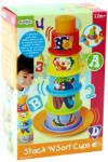 Playgo 6 az 1-ben tanító csészék