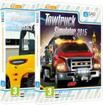 UIG Entertainment Warehouse & Logistics + Towtruck Simulator 2015 (PC) Játékprogram