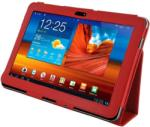 4World Case for Galaxy Tab 10.1 - Red (08205)