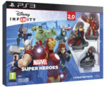 Disney Infinity 2.0 Marvel Super Heroes Starter Pack (PS3) Játékprogram
