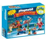 Playmobil Adventi naptár - Ajándékszállítás Télapóval (5494)