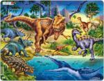 Larsen Dinoszauruszok 57 db-os