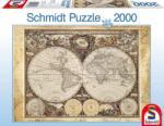 Schmidt Spiele Történelmi világtérkép 2000 db-os (58178)