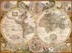 Clementoni Antik világtérkép 3000 db-os (33531)
