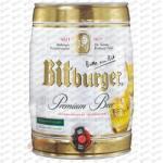 Bitburger Partyhordó 5l 4.8% (3db/pack)