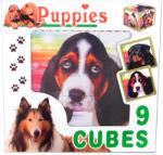 Dohány Kutyák kocka puzzle 9 db-os
